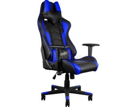 Кресло геймерское ThunderX3 TGC22-BB, Искусственная кожа, Черный/Синий TGC22-BB от Нотик