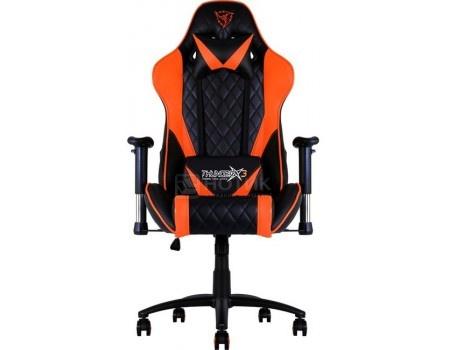 Кресло геймерское ThunderX3 TX3-15BO, Искусственная кожа, Черный/ Оранжевый TGC15-BO от Нотик