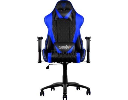 Кресло геймерское ThunderX3 TX3-15BB, Искусственная кожа, Черный/Синий TGC15-BB от Нотик