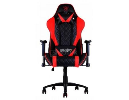 Кресло геймерское ThunderX3 TX3-15BR, Искусственная кожа, Черный/Красный TGC15-BR от Нотик