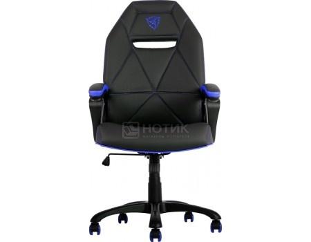 Кресло геймерское ThunderX3 TX3-10BB, Искусственная кожа, Черный/Синий TGC10-BB от Нотик