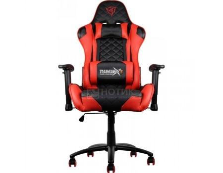 Кресло геймерское ThunderX3 TX3-12BR, Искусственная кожа, Черный/Красный TGC12-BR от Нотик