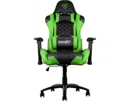 Кресло геймерское ThunderX3 TX3-12BG, Искусственная кожа, Черный/Зеленый TGC12-BG от Нотик