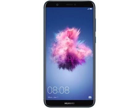 "Huawei P smart Dual Sim 32Gb Blue Смартфон Huawei P smart Dual Sim 32Gb Blue (Android 8.0 (Oreo)/Kirin 659 2360MHz/5.6"" 2160x1080/3072Mb/32Gb/4G LTE ) [6901443214495] 6901443214495"