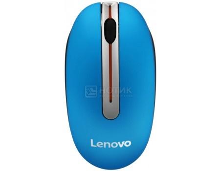 Мышь беспроводная Lenovo N3903 1200dpi, Blue, Синий, GX30N72249, арт: 58046 - Lenovo