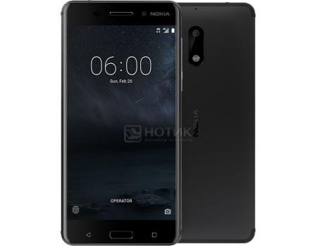Смартфон Nokia 6 32Gb Black (Android 7.1 (Nougat)/MSM8937 1400MHz/5.5* 1920x1080/3072Mb/32Gb/4G LTE ) [11PLEB01A15], арт: 58054 - Nokia