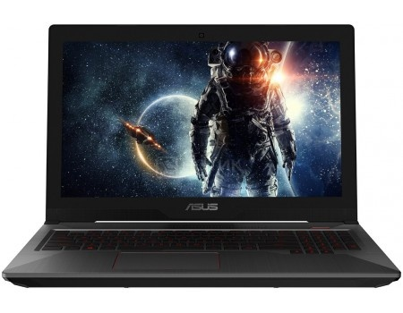 Ноутбук ASUS FX503VD-E4139T (15.6 IPS (LED)/ Core i5 7300HQ 2500MHz/ 8192Mb/ Hybrid Drive 1000Gb/ NVIDIA GeForce® GTX 1050 2048Mb) MS Windows 10 Home (64-bit) [90NR0GN1-M02770]