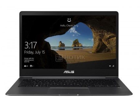 Ультрабук ASUS Zenbook 13 UX331UA-EG057T (13.3 IPS (LED)/ Core i3 7100U 2400MHz/ 8192Mb/ SSD / Intel HD Graphics 620 64Mb) MS Windows 10 Home (64-bit) [90NB0GZ2-M01620]