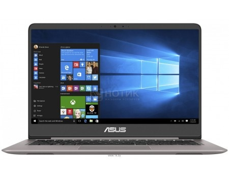Фотография товара ультрабук ASUS Zenbook UX410UA-GV399T (14.0 IPS (LED)/ Core i5 8250U 1600MHz/ 8192Mb/ SSD / Intel UHD Graphics 620 64Mb) MS Windows 10 Home (64-bit) [90NB0DL3-M08020] (58068)