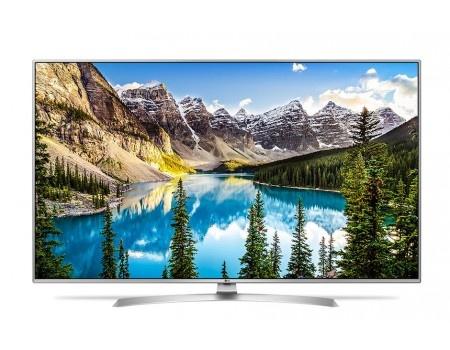 Телевизор LG 65 65UJ655V LED, UHD, IPS, Smart TV (webOS 3.5), PMI 1900, Черный (с серебристой рамкой)