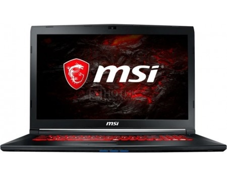 Ноутбук MSI GL72M 7REX-1480XRU (17.3 TN (LED)/ Core i7 7700HQ 2800MHz/ 8192Mb/ HDD+SSD 1000Gb/ NVIDIA GeForce® GTX 1050Ti 4096Mb) Free DOS [9S7-1799E5-1480]