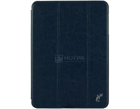 Фотография товара чехол-книжка G-Case Slim Premium для планшета Samsung Galaxy Tab S3 9.7, Искусственная кожа, Темно-синий, GG-852 (58124)