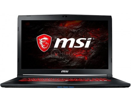 Фотография товара ноутбук MSI GL72M 7RDX-1484XRU (17.3 TN (LED)/ Core i7 7700HQ 2800MHz/ 8192Mb/ HDD+SSD 1000Gb/ NVIDIA GeForce® GTX 1050 2048Mb) Free DOS [9S7-1799E5-1484] (58125)