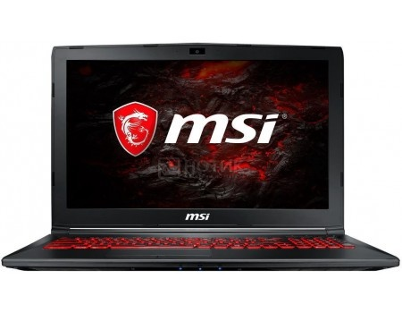 Ноутбук MSI GL62MVR 7RFX-1256RU (15.6 TN (LED)/ Core i7 7700HQ 2800MHz/ 8192Mb/ HDD+SSD 1000Gb/ NVIDIA GeForce® GTX 1060 3072Mb) MS Windows 10 Home (64-bit) [9S7-16JBE2-1256]