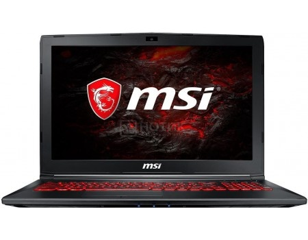 Ноутбук MSI GL62M 7REX-2670RU (15.6 TN (LED)/ Core i7 7700HQ 2800MHz/ 16384Mb/ HDD+SSD 1000Gb/ NVIDIA GeForce® GTX 1050Ti 4096Mb) MS Windows 10 Home (64-bit) [9S7-16J962-2670]