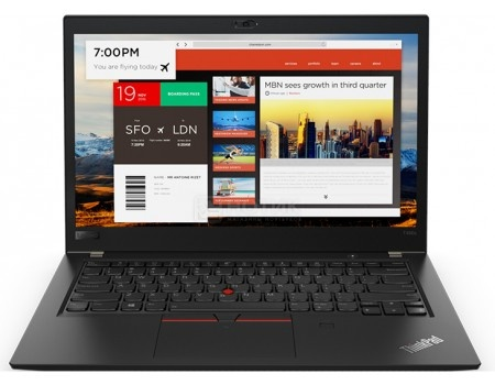 Фотография товара ноутбук Lenovo ThinkPad T480s (14.0 IPS (LED)/ Core i7 8550U 1800MHz/ 16384Mb/ SSD / Intel UHD Graphics 620 64Mb) MS Windows 10 Professional (64-bit) [20L7001HRT] (58181)