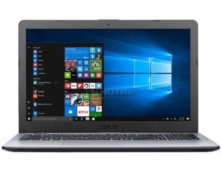 Ноутбук ASUS VivoBook 15 X542UA-DM697T (15.6 TN (LED)/ Core i5 8250U 1600MHz/ 6144Mb/ HDD 1000Gb/ Intel HD Graphics 620 64Mb) MS Windows 10 Home (64-bit) [90NB0F22-M09340]