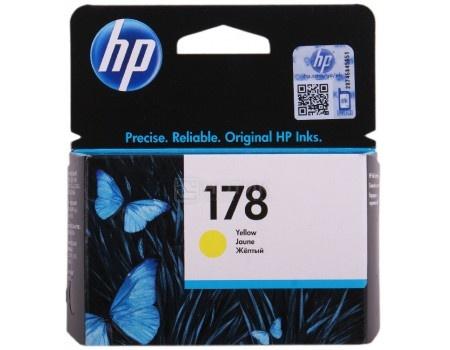 Картридж HP 178 для PhotoSmart 5510 5515 5383 5583 6510 7510 Желтый CB320HE
