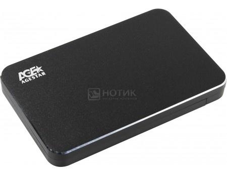 """Фотография товара внешний бокс для 2.5"""" HDD/SSD AgeStar 31UB2A18 Black USB 3.1, Черный (58303)"""