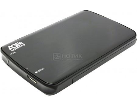 """Фотография товара внешний бокс для 2.5"""" HDD/SSD AgeStar 3UB2A12 Black USB 3.0, Черный (58305)"""