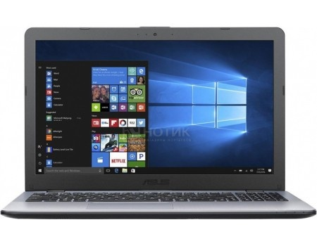 Ноутбук ASUS VivoBook 15 X542UN-DM163T (15.6 TN (LED)/ Core i7 7500U 2700MHz/ 8192Mb/ HDD 2000Gb/ NVIDIA GeForce® MX150 4096Mb) MS Windows 10 Home (64-bit) [90NB0G82-M02680]
