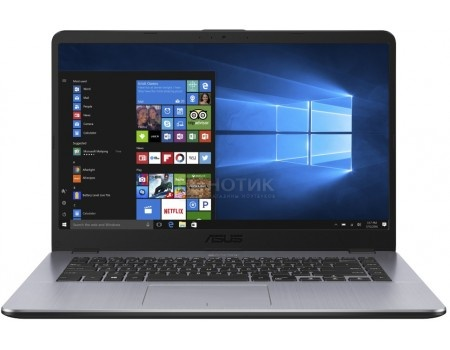 Ноутбук ASUS VivoBook 15 X505BA-EJ163T (15.6 TN (LED)/ A6-Series A6-9220 2500MHz/ 4096Mb/ HDD 1000Gb/ AMD Radeon R4 series 64Mb) MS Windows 10 Home (64-bit) [90NB0G12-M02510	]