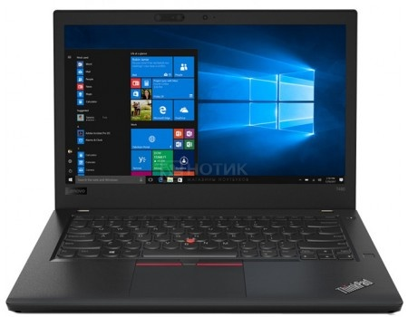 Фотография товара ноутбук Lenovo ThinkPad T480 (14.0 IPS (LED)/ Core i7 8550U 1800MHz/ 8192Mb/ SSD / Intel UHD Graphics 620 64Mb) MS Windows 10 Professional (64-bit) [20L50007RT] (58379)