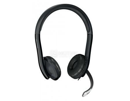 Фотография товара гарнитура проводная Microsoft Headset LifeChat LX-6000, USB, Черный 7XF-00001 (58419)
