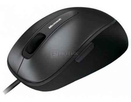 Фотография товара мышь проводная Microsoft Comfort Mouse 4500, 1000dpi, USB, Серый/Черный 4EH-00002 (58424)