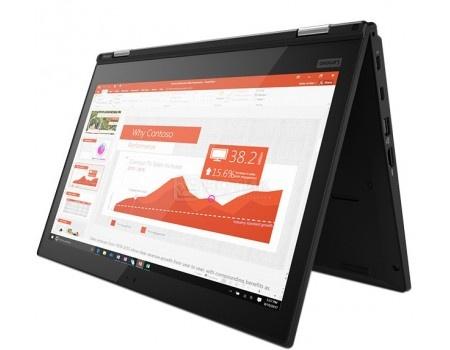Фотография товара ультрабук Lenovo ThinkPad Yoga L380 (13.3 IPS (LED)/ Core i5 8250U 1600MHz/ 8192Mb/ SSD / Intel UHD Graphics 620 64Mb) MS Windows 10 Professional (64-bit) [20M7001BRT] (58439)