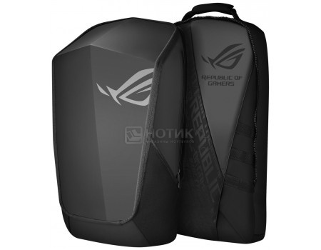 Рюкзак 17&* ASUS ROG Ranger 2 in -1 Black, Полиэстер, Черный 90XB0310-BBP120, арт: 58499 - ASUS