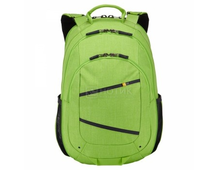 "Рюкзак 15,6"" Case Logic Berkeley II BPCA-315_LIME_GREEN, Полиэстер, Зеленый (Лайм)"