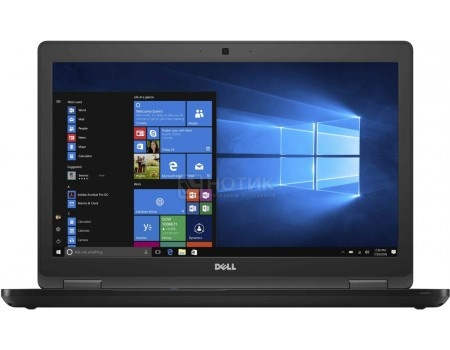 Ноутбук Dell Latitude 5590 (15.6 IPS (LED)/ Core i5 8250U 1600MHz/ 8192Mb/ SSD / Intel UHD Graphics 620 64Mb) MS Windows 10 Professional (64-bit) [5590-1566]