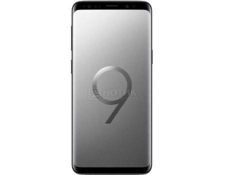 "Фотография товара смартфон Samsung Galaxy S9 64Gb SM-G960FZ Titanium Gray (Android 8.0 (Oreo)/Exynos 9810 2700MHz/5.80"" 2960х1440/4096Mb/64Gb/4G LTE ) [SM-G960FZADSER] (58596)"