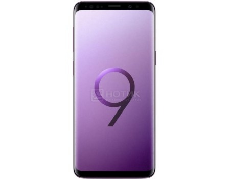 "Фотография товара смартфон Samsung Galaxy S9 64Gb SM-G960FZ Lilac Purple (Android 8.0 (Oreo)/Exynos 9810 2700MHz/5.80"" 2960х1440/4096Mb/64Gb/4G LTE ) [SM-G960FZPDSER] (58597)"