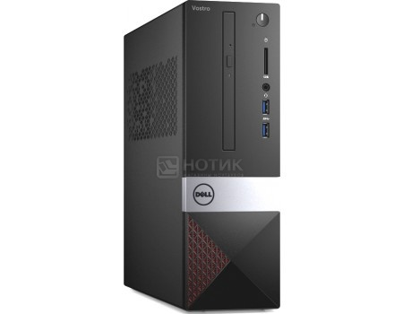 Фотография товара системный блок Dell Vostro 3268 SFF (0.0 / Core i5 7400 3400MHz/ 8192Mb/ SSD / Intel HD Graphics 630 64Mb) Linux OS [3268-8213] (58616)