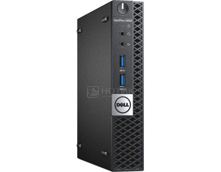 Фотография товара системный блок Dell OptiPlex 5050 MFF (0.0 / Core i5 7100T 3400MHz/ 4096Mb/ SSD / Intel HD Graphics 630 64Mb) Linux OS [5050-8208] (58617)