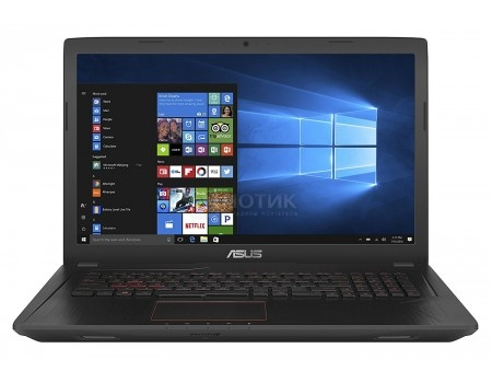 Ноутбук ASUS FX553VD-E4841T (15.6 IPS (LED)/ Core i5 7300HQ 2500MHz/ 8192Mb/ HDD 1000Gb/ NVIDIA GeForce® GTX 1050 2048Mb) MS Windows 10 Home (64-bit) [90NB0DW4-M13610]