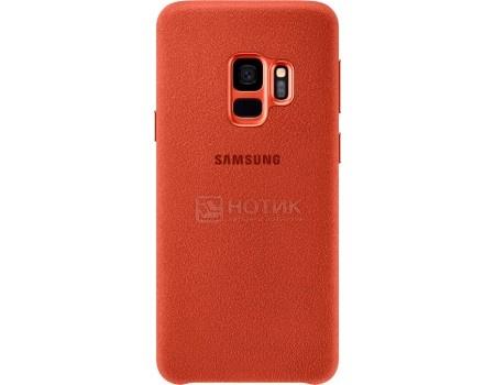 Чехол-накладка Samsung Alcantara Cover для Samsung Galaxy S9, Поликарбонат, Red, Красный, EF-XG960AREGRU