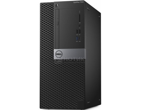 Фотография товара системный блок Dell OptiPlex 7050 MT (0.0 / Core i7 7700 3600MHz/ 16384Mb/ HDD+SSD 1000Gb/ AMD Radeon R7 450 4096Mb) MS Windows 10 Professional (64-bit) [7050-4860] (58668)