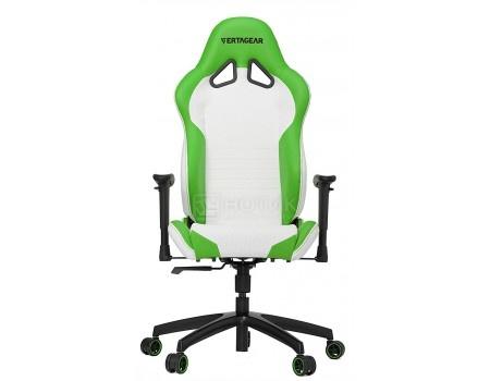 Фотография товара кресло геймерское Vertagear SL2000, Искусственная кожа, Белый/Зеленый VG-SL2000_WGR (58685)