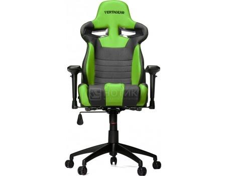 Кресло геймерское Vertagear SL4000, Искусственная кожа, Черный/Зеленый VG-SL4000_GR от Нотик