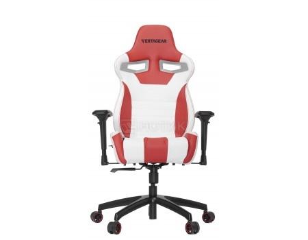 Фотография товара кресло геймерское Vertagear SL4000, Искусственная кожа, Белый/Красный VG-SL4000_WR (58695)