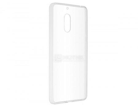 Чехол-накладка ONEXT для смартфона Nokia 6 , Силикон, Clear, Прозрачный, 70536 фото