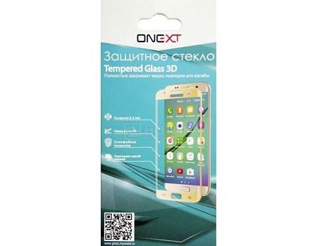 Фотография товара защитное стекло ONEXT для смартфона Samsung Galaxy S8 3D черное 41567 (58729)