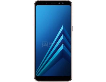 Смартфон Samsung Galaxy A8  2018 SM-A730F Blue (Android 7.1 (Nougat)/Exynos 7885 2200MHz/6.0* 2220x1080/4096Mb/32Gb/4G LTE ) [SM-A730FZBDSER], арт: 58731 - Samsung