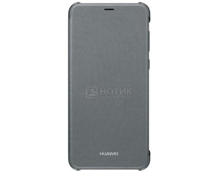 Фотография товара чехол-книжка Huawei для смартфона Huawei P smart , Полиуретан, Black, Черный, 51992413 (58780)