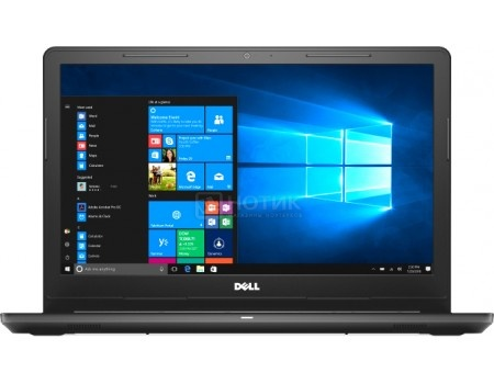 Фотография товара ноутбук Dell Inspiron 3576 (15.6 TN (LED)/ Core i5 8250U 1600MHz/ 4096Mb/ HDD 1000Gb/ AMD Radeon 520 2048Mb) MS Windows 10 Home (64-bit) [3576-2112] (58792)