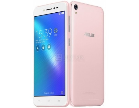 Смартфон ASUS Zenfone Live ZB501KL-4I004A Rose Pink (Android 6.0 (Marshmallow)/MSM8928 1400MHz/5.0