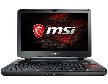 Ноутбук MSI GT83 8RG-005RU Titan (18.4 LED (IPS - level)/ Core i7 8850H 2600MHz/ 32768Mb/ HDD+SSD 1000Gb/ NVIDIA GeForce® GTX 1080x2 SLI 8192Mb) MS Windows 10 Home (64-bit) [9S7-181612-005]